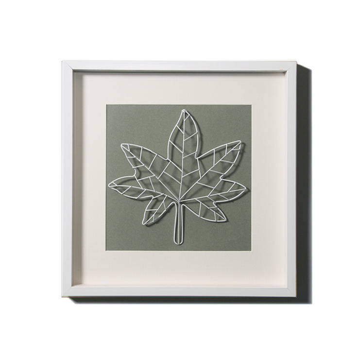 Art of home decoration with 3D metal flowers and trees