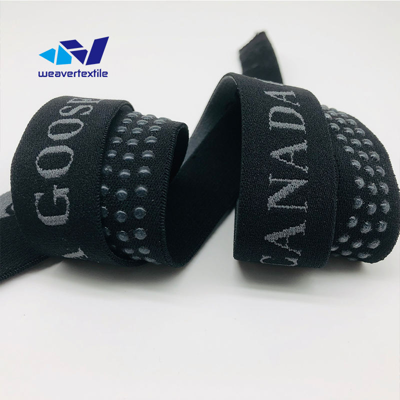 25mm high elastic flat decorative nylon seat belt webbing carry strap
