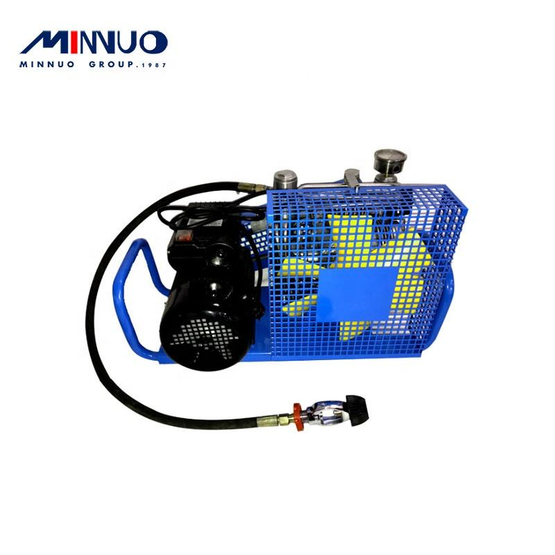 China portable gasoline breathing air compressor with good quality