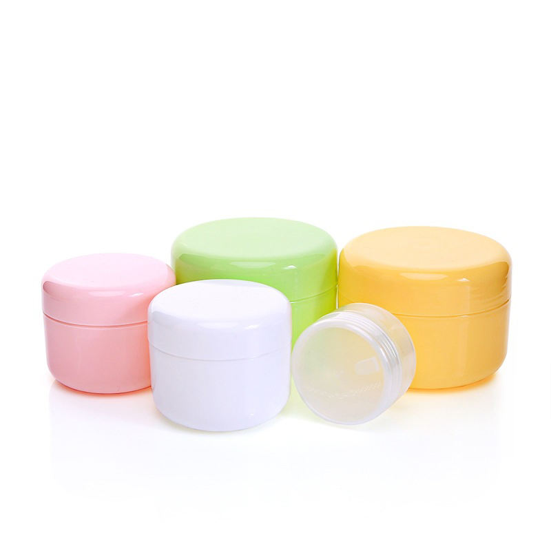 10g 20g 30g 50g 100g 150g 200g 250g plastic cosmetic empty PP cream jar with lid