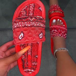 Sandals women 2020 new ladies latest design slippers for women Plain Slide women sandals