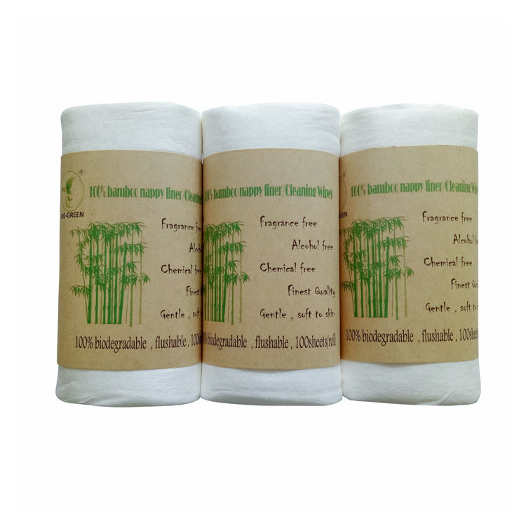 free sample dry disposable wipe with containers, eco friendly, flushable & biodegradable. super sfot to skin