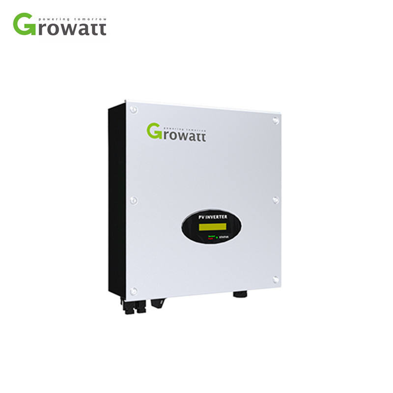 Growatt Solar Inverter 3kw 4kw 5kw Single Phase 220v On Grid Tied Inverter