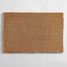 Outdoor Entrance Unprinted Unpainted DIY Brown Tan Bulk Blank Plain PVC Coir Fiber Coconut Coco Door Mats Mate Doormats in USA