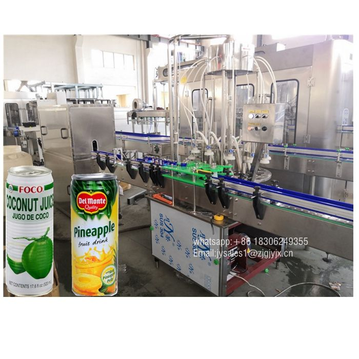 Mango Juice Production Line, Can Filling Seaming Machine Price