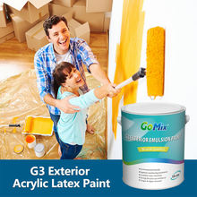Elastic Exterior Paints for House