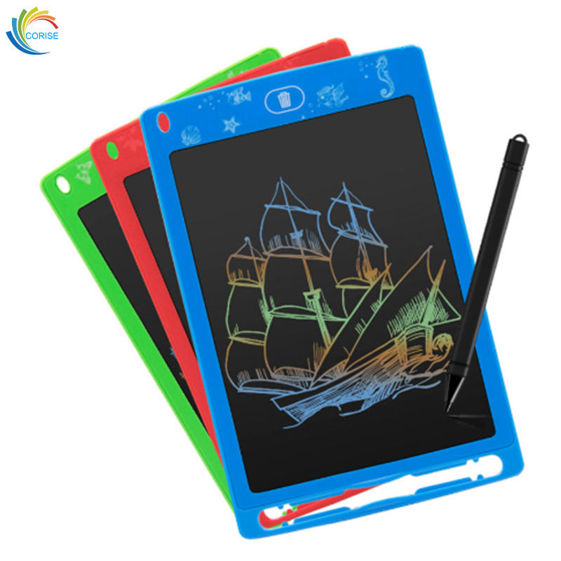 Colorful Drawing Tablet Handwriting Pad LCD Writing Tablet for Kids 8.5inch
