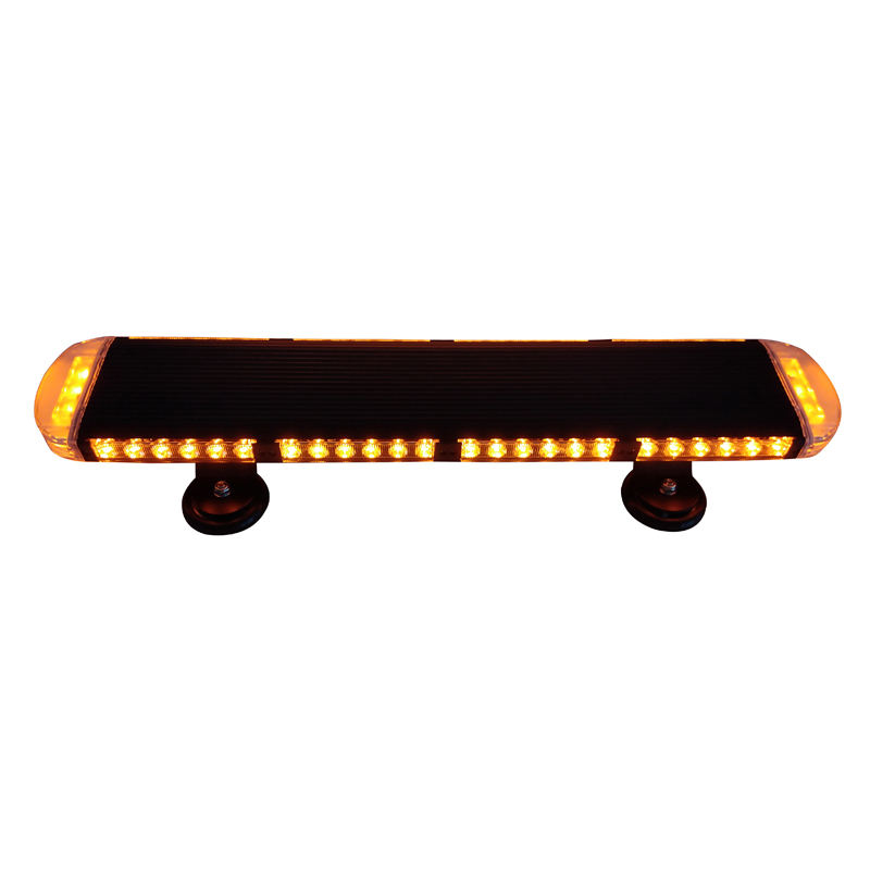 Super bright slim Ambulance Truck Car Roof magnetic mounting Led Mini Light Bar