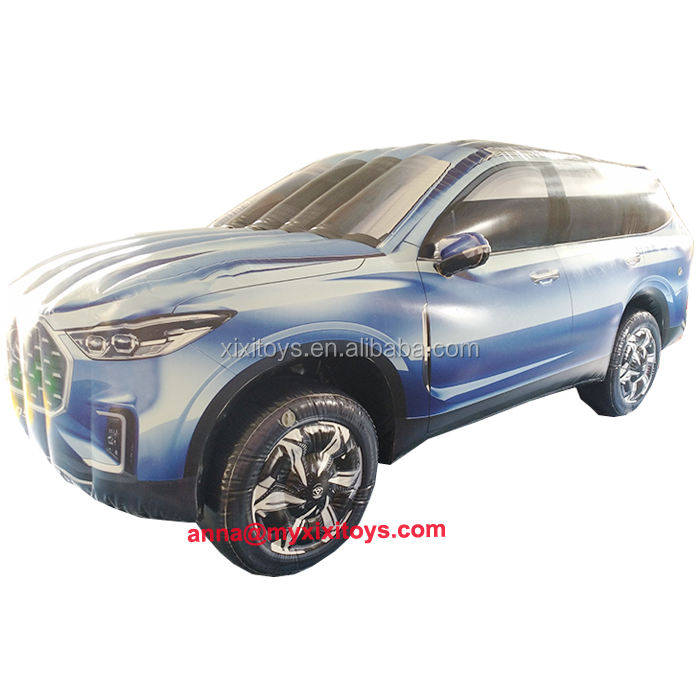 XIXI TOYS Outdoor Custom Lifelike Large Bespoke Inflatable Vehicle Car / Promotion Custom Made Inflatable Cars