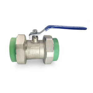 Valogin High quality 90*90 Brass Ball Valve With PPR pipe