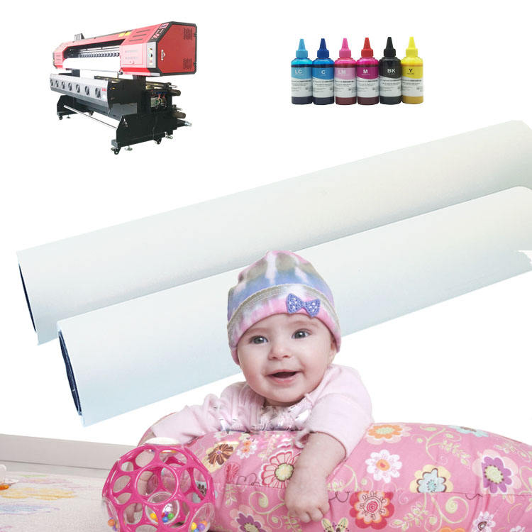 Wholesale 50 gsm Textile Digital Printing Sublimation Transfer Paper for Polyester T shirt