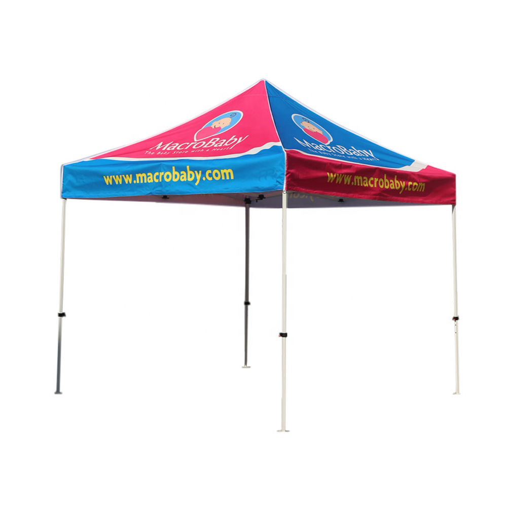 cheap custom printed trade show 10x10 ez up tent