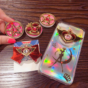 High Quality Mobile Phone Accessories Air Bag Cell Phone stand Bracket sailor moon phone holder