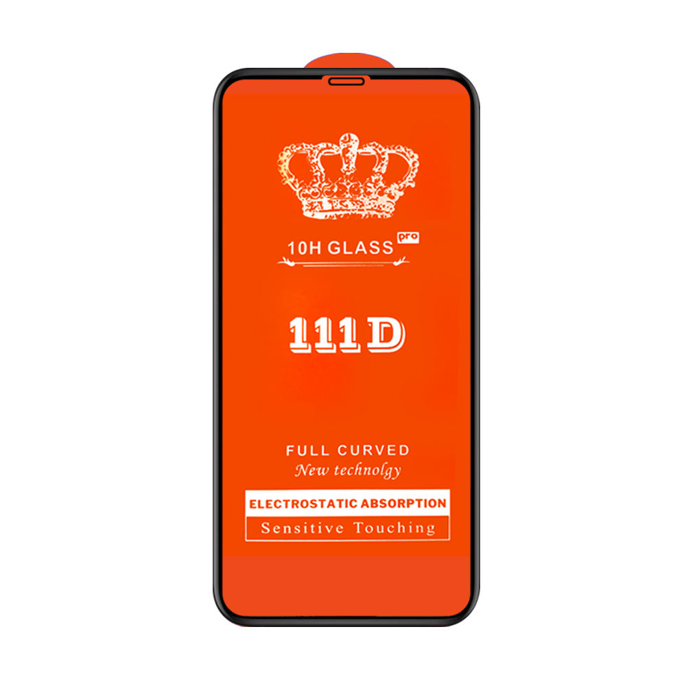 111D 9H High Quality Full Glue Full Cover Tempered Glass for Samsung A01A11 A31 A51 A71 A81 A91 Screen Protector Film