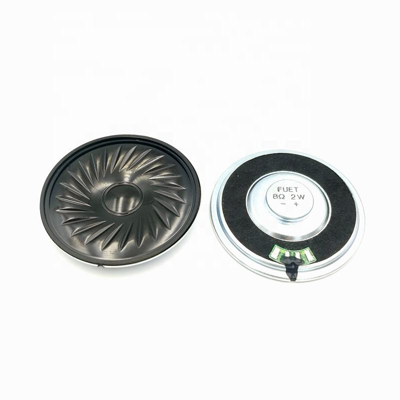 57mm 8 ohm 2W Waterproof Micro Round Mylar Speaker Magnet Speaker Acoustic Full Range Loud Speaker FS57MS0820-H8.4 RoHS
