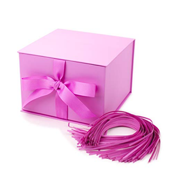 discount recycle custom magnetic jewelry wedding luxury cardboard pink paper gift box packaging