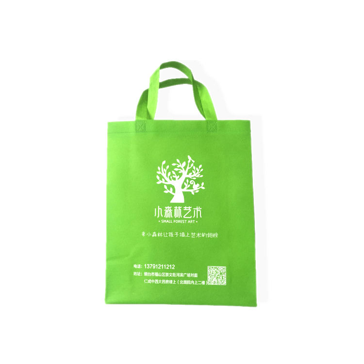 Reusable customizable foldable recycle shopping eco printed custom logo non woven bag small