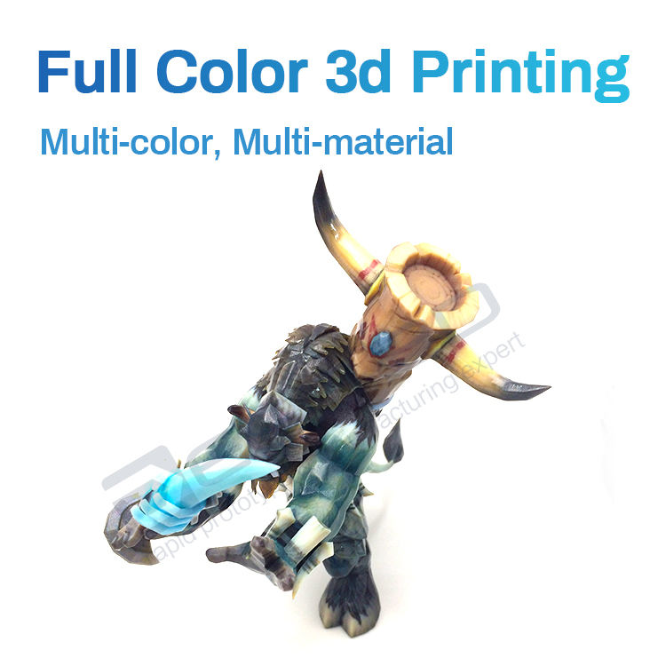 polyjet multicolor 3d printing service Custom High resolution large size smooth model resin parts rapid prototype
