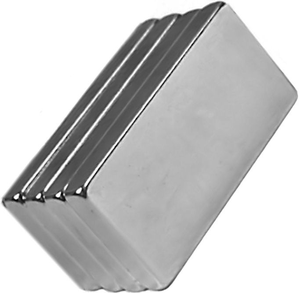 One Very Strong Magnet 50mm x 25mm x 10mm Large Neodymium Block 50x25x10 mm