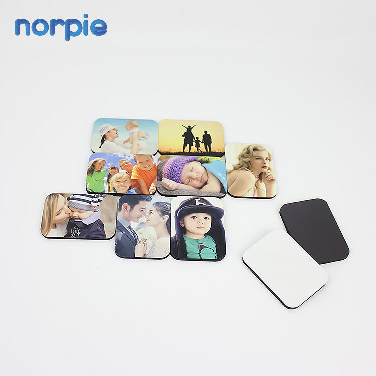 Hot Personalized Souvenir Sublimation Wood Blank Fridge Magnets