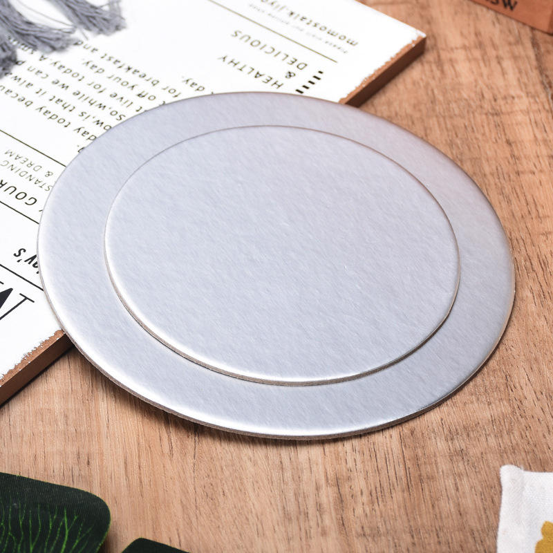 Cake Board Round Base White Silver Golden Cake Drum Board Wedding Disposable Stand Wholesale Factory Decorating Circle Cardboard