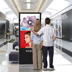 LCD cheap advertising FHD display 49inch digital signage media player