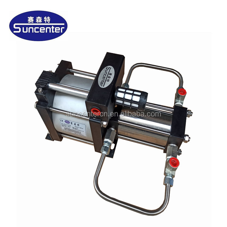 Pneumatic refrigerant gas freon transfer/filling/recovery pump