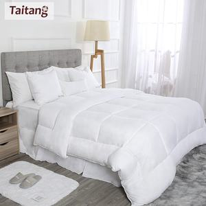 Taitang King Size Bedding Comforter Set Hotel Soft King Queen Full 100 Cotton Bed Quilt