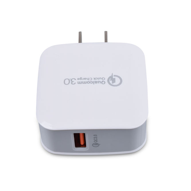 Bread Design Single USB Port Fast Charger QC3.0 USB Wall Adapter For Phone Quick Charing