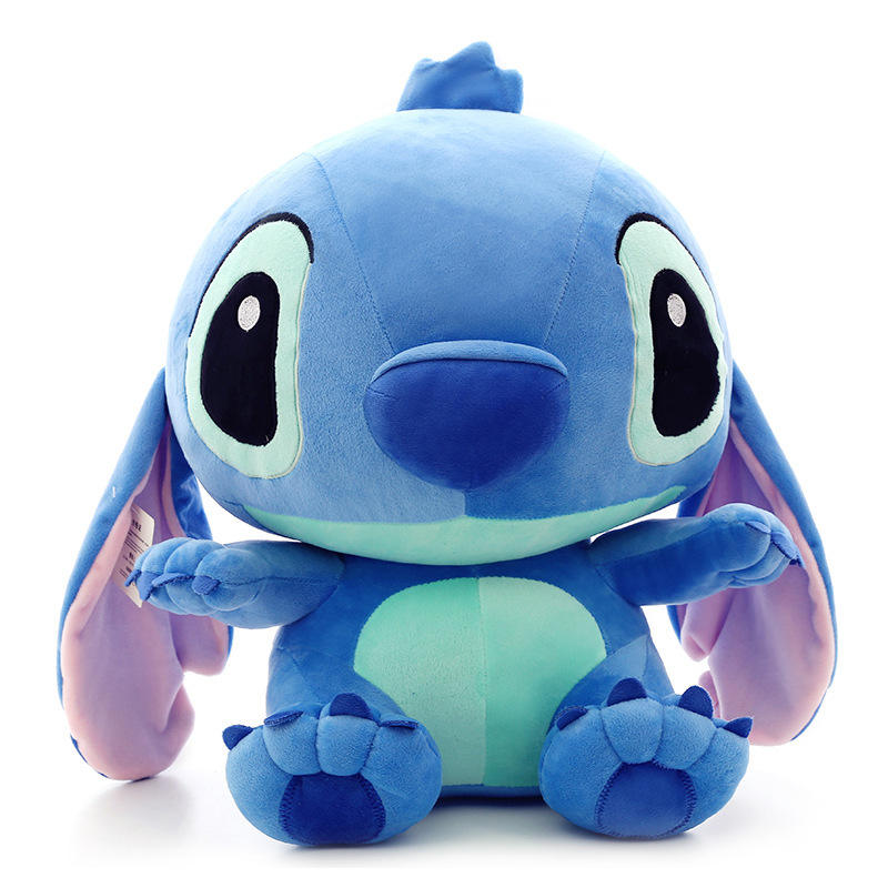 Wholesale Plush Toy Skin Cheap Price Lovely 35cm Stitch Skin Plush Toys Unstuffed Animals Soft Toy for Children Birthday Gift