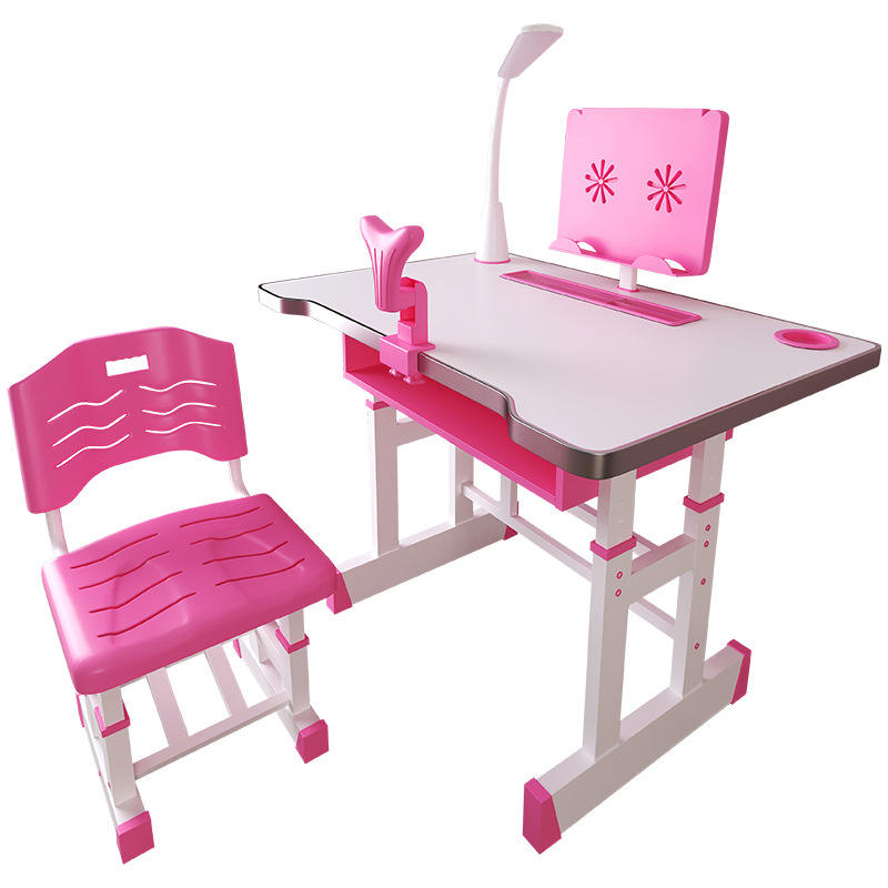 New design hot sale kids children baby learn study desk and chair for home