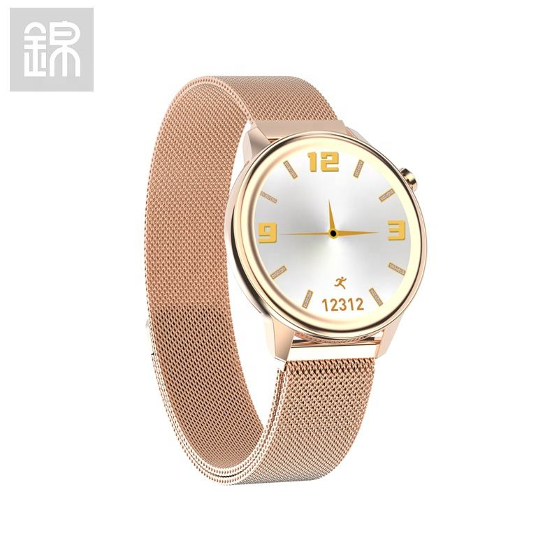 JY-Mall F80 Smart watch Women Multiple dials Health monitor Feminine features Body Temperature Menstruation Fitness Watch