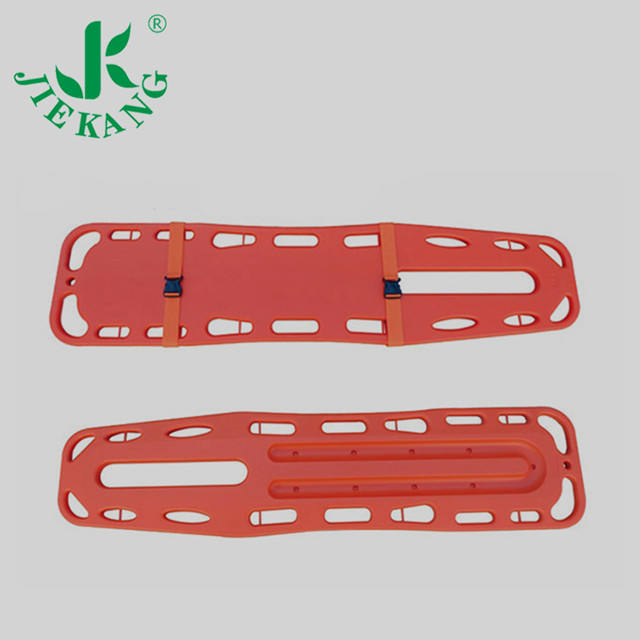 Jiekang Factory direct selling low price Medical Spinal Hdpe Plastic Back Spine Board Stretcher