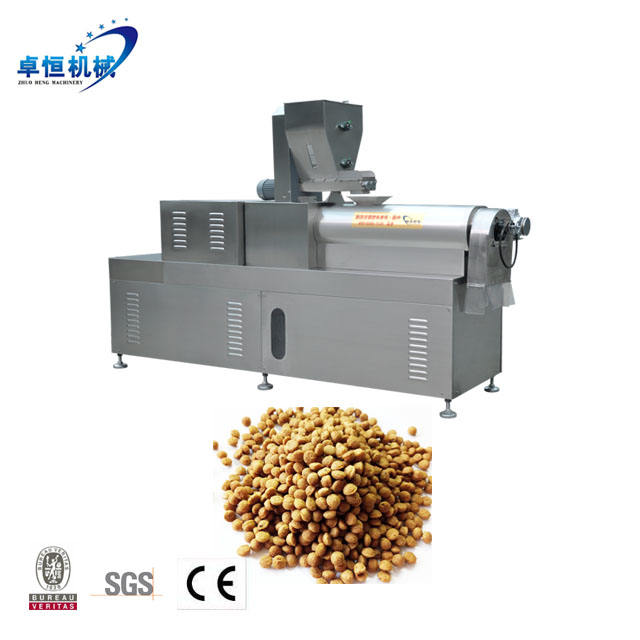 Dry Pet Food Dog Kibble Machine Food & Beverage Factory Manufacturing Plant Spare Parts Provided 2 Years Gearbox Online Support