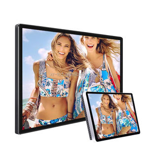 Factory price wall mount touch screen digital tv led advertising display