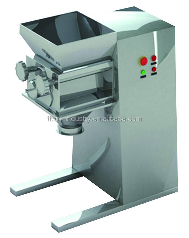 Powder granulator for wet powder