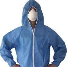 Cleanroom Household Chemical  Disposable Antistatic Suits Coverall Uniform Workwear