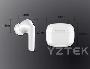 Earphone Stereo Bass HIFI, Headphone Nirkabel Stereo Tanpa Kabel untuk Iphone Apple 8/PLUS X 11 12