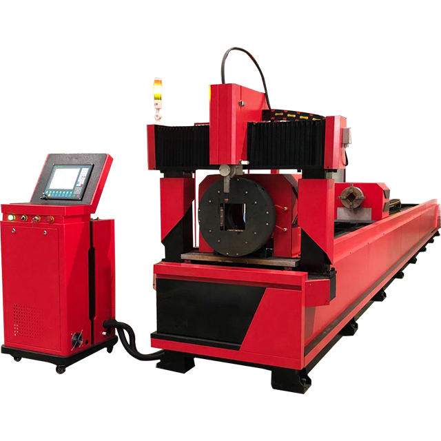Automatic CNC Plasma Cutting Machine For Round metal pipes tubes