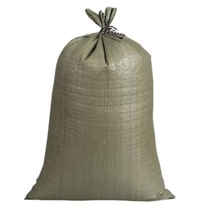 cheap 25kg 50kg packaging green bags china pp woven Construction waste bag
