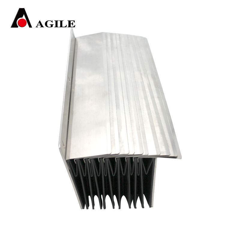machine shield fire resistant organ metal dust bellow cover