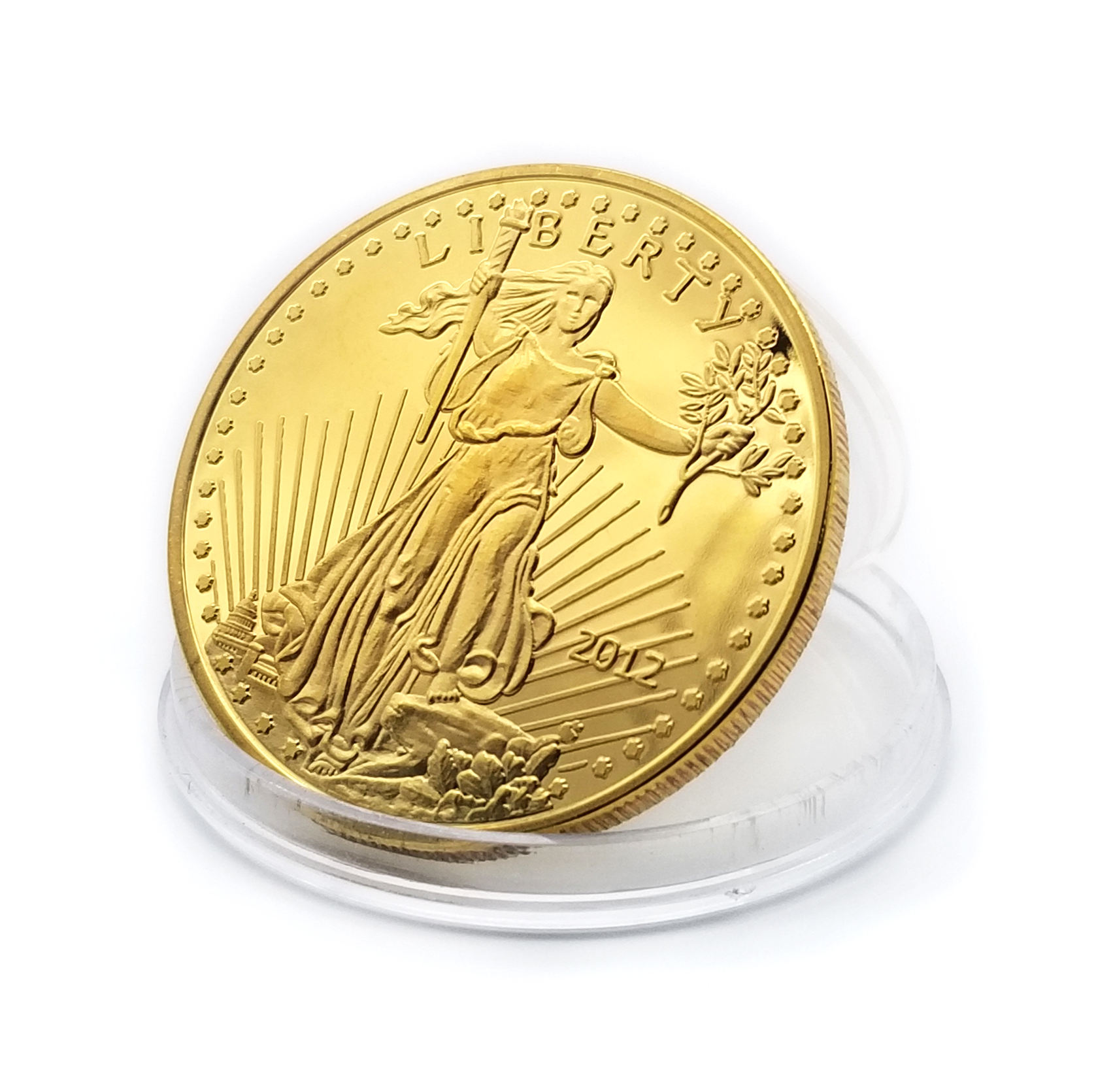 WD Cheapest 1990 / 2008 old lady liberty souvenir dollars coin usa gold silver bullion liberty price coins