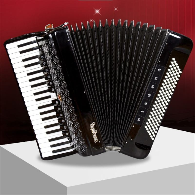 YW9968 Parrot 41 keys 120Bass 4 chorus keyboard accordion