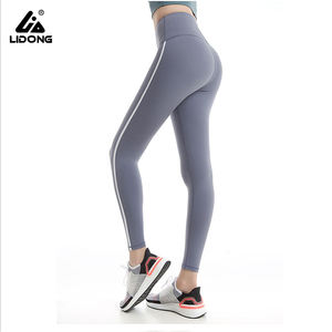 Custom logo women's women ladies high waisted squat proof leggins workout fitness sports sexy gym leggings