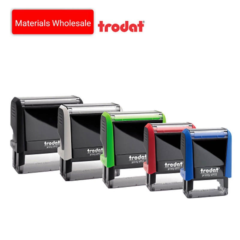 Custom Office Use TRODAT STAMPS Trodat Rubber Stamp Date Stamp Machine Rubber Seal Self Inking Stamper