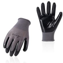 SQUESS Pu Finger Coated Glove Workwear Esd Gloves
