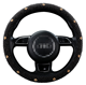 Wear-resistant and cool beads Universal Car Accessories Interior Decorative PVC Steering Wheel Cover