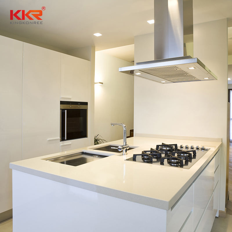 KKR Solid Surface Vanity Top New Kitchen Furnitures Manufacturers