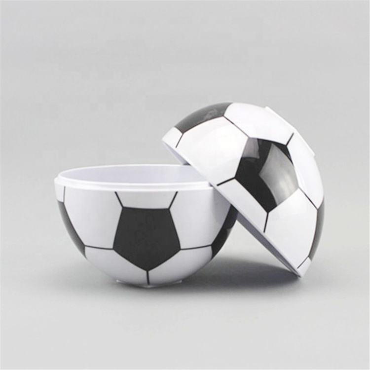 Custom Bar Melamine Soccer Ball Bowl