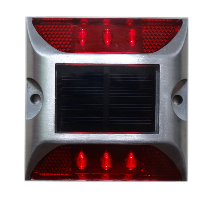 Steady Blinking led light driveway solar traffic road stud reflective cat eyes traffic marker 20tons solar powered